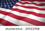 american flag. | Shutterstock . vector #29531908