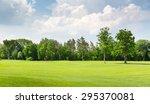summer park | Shutterstock . vector #295370081