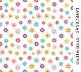 tiny floral seamless pattern | Shutterstock .eps vector #295378691