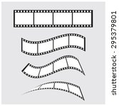 vector film strip | Shutterstock .eps vector #295379801