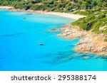 Beautiful Bay With Azure Sea...