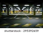 underground garage | Shutterstock . vector #295392659