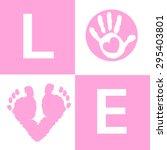 Baby Girl Baby Hand And Feet...