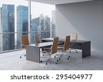 Modern Office Interior With...