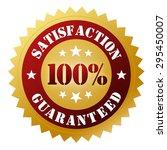 satisfaction guaranteed | Shutterstock . vector #295450007
