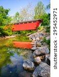 Red Bridge At Cuyahoga Valley...