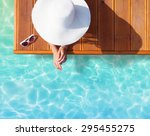 summer holiday fashion concept  ... | Shutterstock . vector #295455275