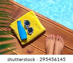 summer holiday fashion concept  ... | Shutterstock . vector #295456145