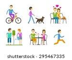 people  folk vector logo design ...   Shutterstock .eps vector #295467335