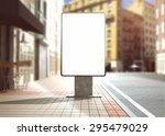 3d rendering of lightbox mockup | Shutterstock . vector #295479029