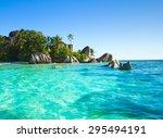 season paradise stones  | Shutterstock . vector #295494191