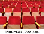 an empty old fashioned movie... | Shutterstock . vector #29550088