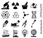 science icons vector | Shutterstock .eps vector #295516295