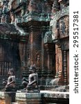 banteay srei | Shutterstock . vector #295517381