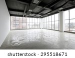 concrete interior of unfinished ... | Shutterstock . vector #295518671
