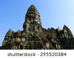 angkor wat | Shutterstock . vector #295520384