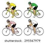 cyclist | Shutterstock .eps vector #295567979