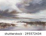 Original Oil Painting  Stormy...