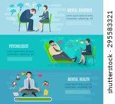 mental disorder psychological... | Shutterstock .eps vector #295583321