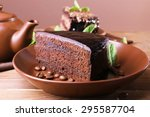 Delicious Chocolate Cake With...