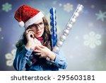 Portrait Of Making Phone Call...