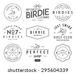 golf badges and labels for any... | Shutterstock .eps vector #295604339