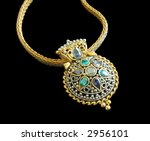a beautiful necklace isolated... | Shutterstock . vector #2956101