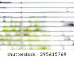 Blurred Window Blind For...
