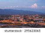 Tucson Skyline Showing The...