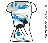 printed t shirt design template ... | Shutterstock .eps vector #29562325