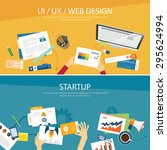 web design and startup concept...