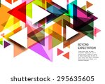 abstract geometric background...
