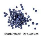 fresh juicy blueberries.  rich... | Shutterstock . vector #295636925