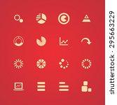 diagram icons universal set for ... | Shutterstock .eps vector #295663229