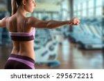 fitness  training  gym. | Shutterstock . vector #295672211