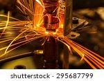industrial welding automotive... | Shutterstock . vector #295687799