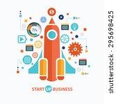 Start Up Business Concept...