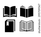 book icon | Shutterstock .eps vector #295709567