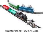 Transfer Via Railroad  Toy...