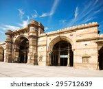ahmedabad jama masjid mosque  | Shutterstock . vector #295712639