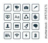 art  design icons universal set ...