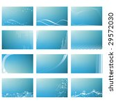 abstract business card templates | Shutterstock .eps vector #29572030