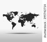 map of world   Shutterstock .eps vector #295742714