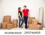 full length portrait of a... | Shutterstock . vector #295746905