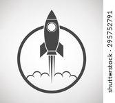 rocket icon | Shutterstock .eps vector #295752791