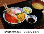 Japanese Cuisine   Uni Don Set...