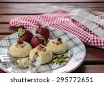gourabia with apron | Shutterstock . vector #295772651