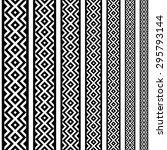 border decoration elements... | Shutterstock .eps vector #295793144