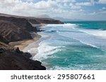 fuerteventura  canary islands... | Shutterstock . vector #295807661