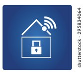 home internet security | Shutterstock .eps vector #295834064